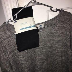 Old Navy Sweater & Leggings